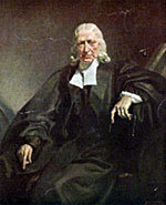 A portrait of John Wesley